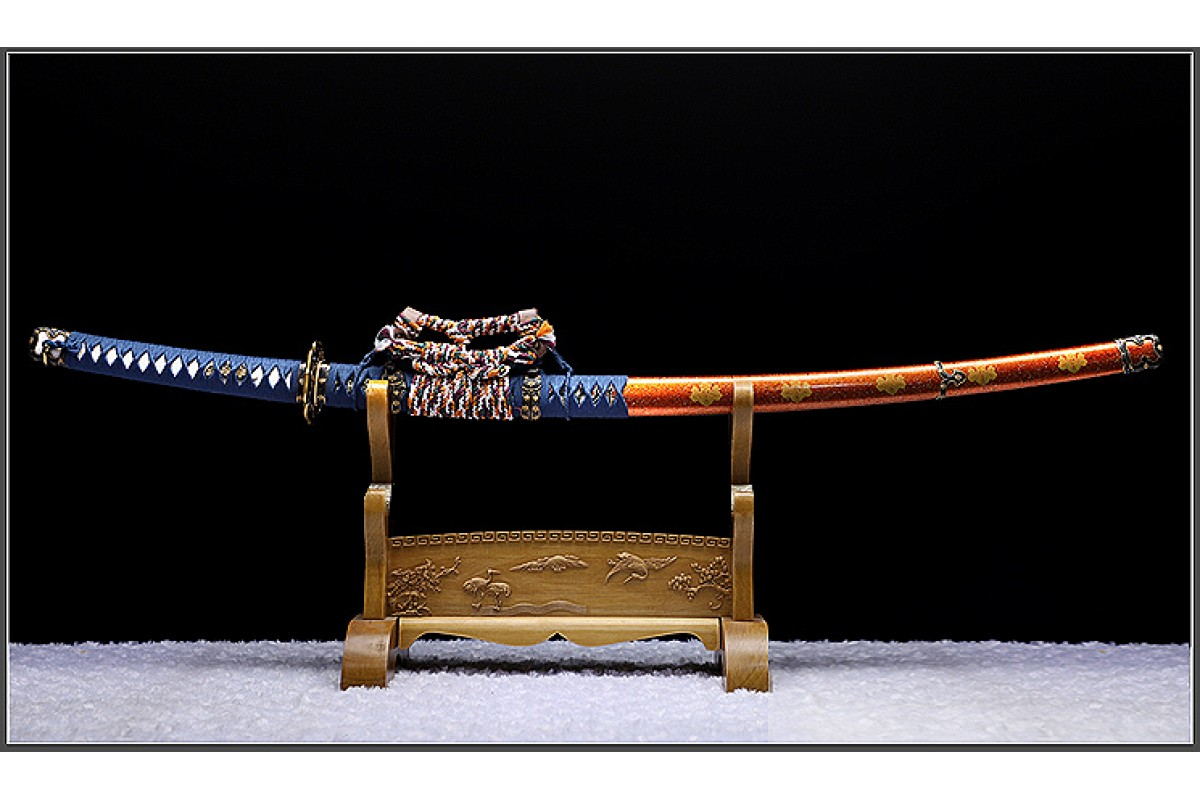 Handmade Battle Ready Japanese Shirasaya Samurai Katana Sharp Full Tang Sword