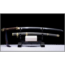 Handmade Battle Ready Clay Tempered Kobuse Folded Steel Razor Sharp Blade Shin Gunto Shinken Sword