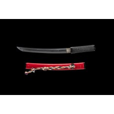 Janpanese Tanto Clay Tempered Folded Steel Shihozume Blade Sword