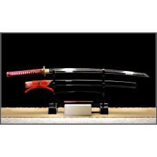 Handmade Battle Ready Clay Tempered Folded Steel Razor Sharp Blade Japanese Samurai Katana Full Tang Shinken Sword