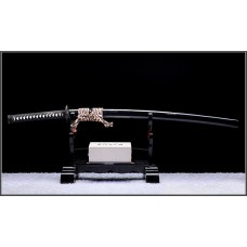 Handmade Japanese Samurai Katana Battle Ready Clay Tempered T10 Choji Hamon Blade Razor Sharp Full Tang Sword