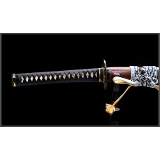 Handmade Battle Ready Clay Tempered Shihozume Blade Japanese Samurai Katana Razor Sharp Full Tang Sword