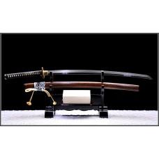 Handmade Battle Ready Clay Tempered Shihozume Blade Japanese Samurai Katana Razor Sharp Full Tang Sword