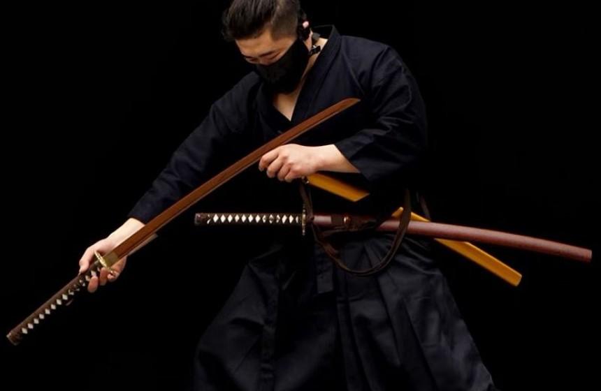 Why katana sword of choice for samurai