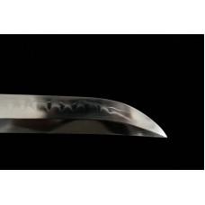 Japanese Samurai Katana Clay Tempered Shihozume Blade Sword Battle Ready Razor Sharp Full Tang