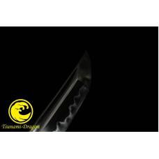 Top Quality Clay Tempered Kobuse Blade Japanese Wakizashi Samurai Folded Steel