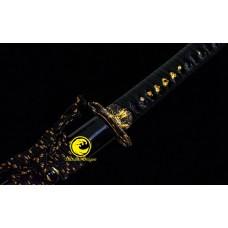 Battle Ready Japanese Katana T10 Steel Blade Sword Unokubi Zukuri Real Yokote