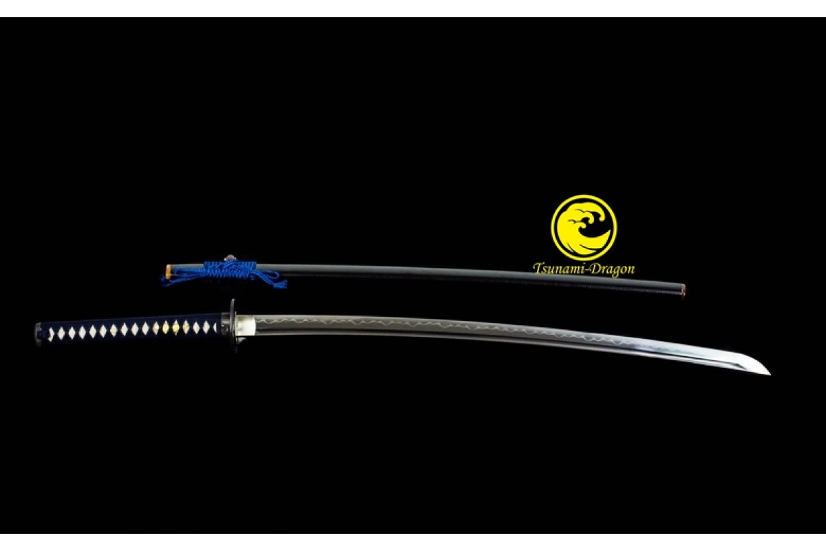 Clay Tempered Battle Ready Japanese Katana T10 Steel Samurai Sword Full Tang Razor Sharp