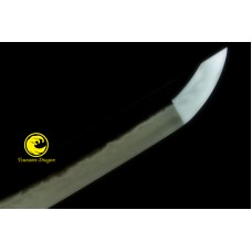 Japanese Samurai Clay Tempere T10 Steel Top Saka Choji Hamon Blade Katana Sword