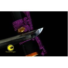 Battle Ready Razor Sharp Japanes Waklzashi Katana Oil-Quenched Steel Blade Sword
