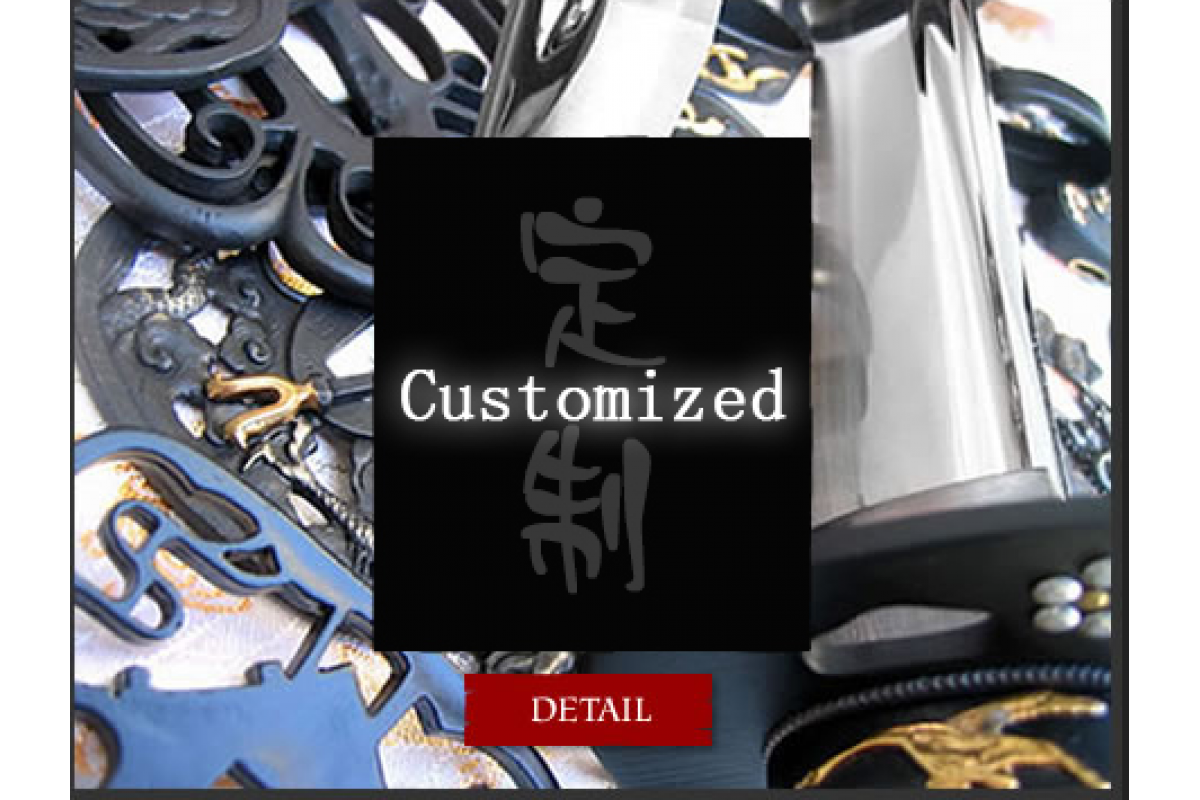 Customized Clay Tempered Japanese Battle Ready Samurai Katana Wakizashi Tanto Nodachi Swords