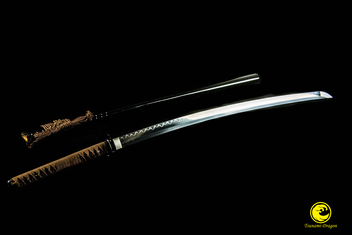 Clay Tempered Battle Ready Japanese Samurai Katana T10 Steel Blade Sword Razor Sharp Full Tang