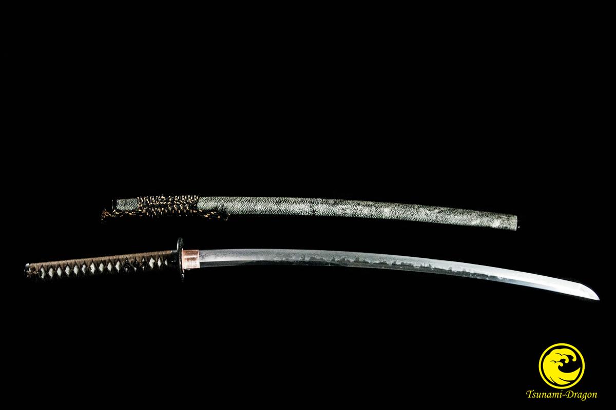Battle Ready Clay Tempered T10 Steel Choji Hamon Japanese Samurai Shinken Sword