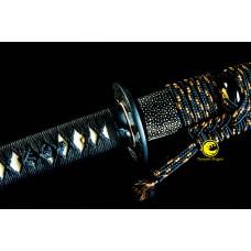Hand Forged Clay Tempered T10 Steel Choji Hamon Blade Japanese katana Samurai Sword
