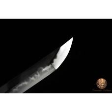 Battle Ready Clay Tempered T10 Steel Choji Hamon Blade Japanese Daisho Set Razor Sharp Full Tang