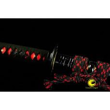 Clay Tempered Kobuse Folded Steel Blade Japanese Wakizashi Sword Razor Sharp Full Tang