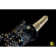 Battle Ready Clay Tempered Japanese Samurai Katana T10 Steel Razor Sharp Cutting Blade Sword Full Tang