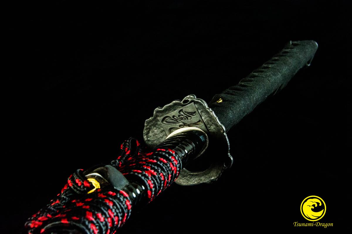 Battle Ready Clay Tempered Tameshigiri Japanese Samurai Katana Razor Sharp Sword Full Tang
