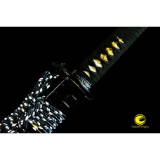 Battle Ready Japanese Samurai Katana 9260 Spring Steel Blade Sword Full Tang Tameshigiri