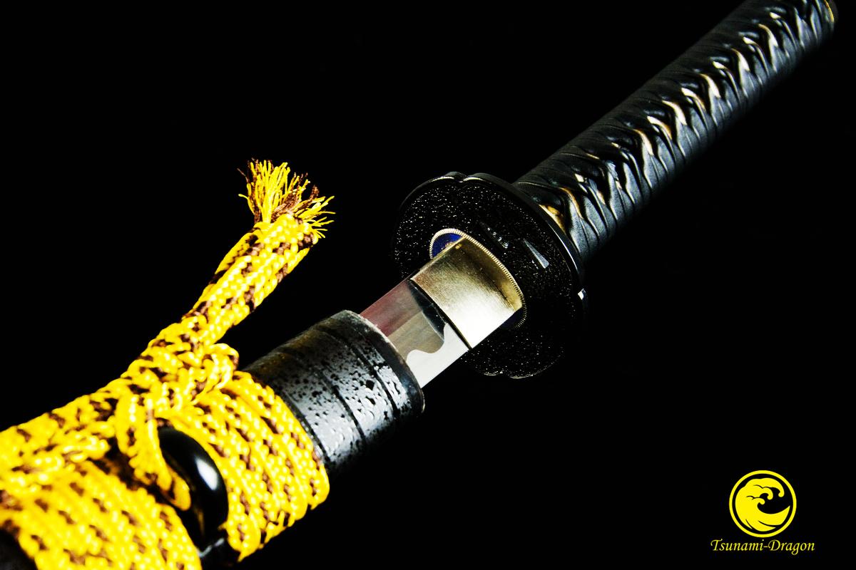 HandMade Battle Ready Japanese Samurai Katana 9260 Spring Steel Blade Sword Full Tang Tameshigiri