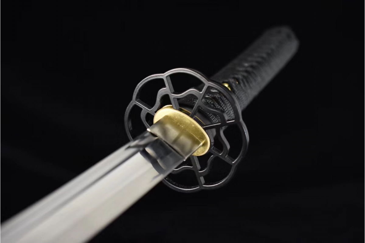 Battle Ready Razor Sharp 9260 Spring Steel Suguha Hamon Japanese Katana Sword Full Tang Tameshigiri