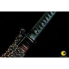 Japanese Samurai Katana Battle Ready 9260 Spring Steel Blade Sword Full Tang Tameshigiri