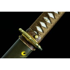 Battle Ready Clay Tempered T10 Japanese Samurai WW2 Shin Gunto Katana Sword New