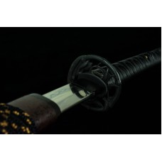 Clay Tempered Battle Ready Japanese Katana T10 Steel Blade Sword Snake Sharp Hot
