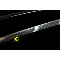 Handmade Battle Ready Folded Steel Japanese Katana Samurai Sword Full Tang Sharp