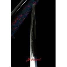 Clay Tempered Soshu Kitae Blade Japanese Katana Sword Hishigami Razor Sharp Hot