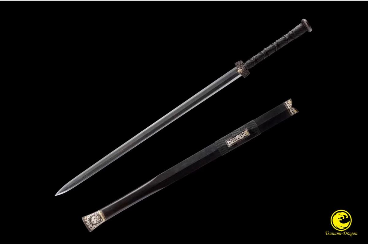 battle ready chinese sword jian t10 folded steel full tang blade razor sharp handmade battle ready chinese sword jian t10 folded steel full tang blade razor sharp handmade