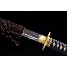 Handmade Battle Ready Clay Tempered T10 Steel Japanese Katana Samurai Swords
