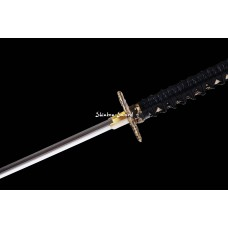 Handforge Battle Ready Clay Tempered T10 Steel Blade Japanese Katana Samurai Swords