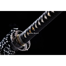 Handmade Battle Ready Clay Tempered T10 Steel Japanese Katana Samurai Sword
