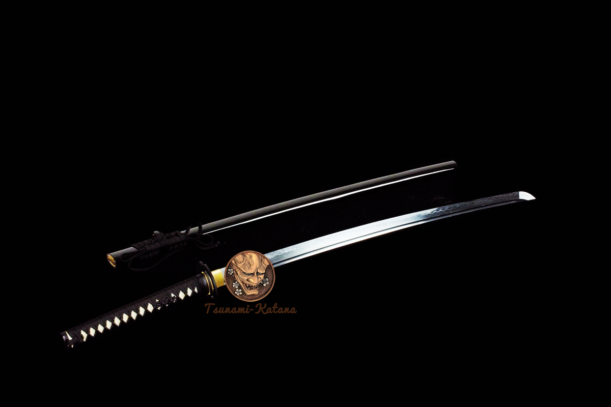 Clay Tempered  Battle Ready T10 Steel Japanese Samurai Musashi Katana Sword Full Tang Tameshigiri