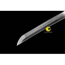 Japanese Battle Ready Clay Tempered Samurai Katana T10 Steel Blade Sword Sharp