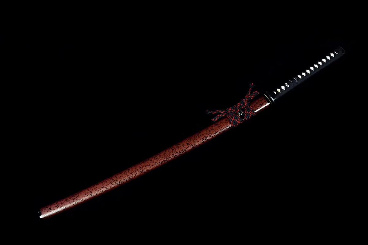 Battle Ready Clay Tempered Japanese Samurai Katana T10 Steel Cutting Blade Sword Full Tang Razor Sharp