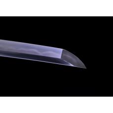 Clay Tempered Japanese Tachi Sword 1095 High Carbon Steel Folded Razor Sharp Battle Ready Full Tang