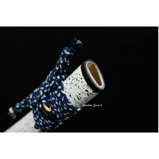 Handmade Japanese Samurai Katana Sword Clay Tempered T10 Steel Razor Sharp Blade