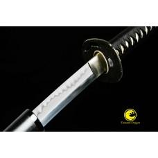 Battle Ready Clay Tempered L6 Japanese Samurai Katana Sword Choji O- Kissaki Sharp