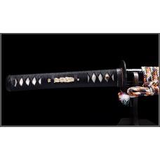Handmade Battle Ready Clay Tempered L6 Folded Steel  Razor Sharp Blade Japanese Samurai Katana Full Tang Sword