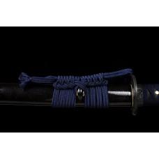 Handmade Clay Tempered T10 Steel Samurai Katana Swords Razor Sharp Blade