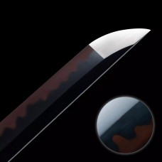 Hand Forged Japanese Katana Swords Clay Tempered T10 Red Steel Samurai Sword Razor Sharp Blade