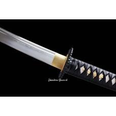 Battle Ready Folded Steel Japanese Katana Samurai Sword Full Tang Blade