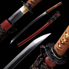 Hand Forged Battle Ready Clay Tempered Choji Hamon Blade Japanese Katana Samurai Sword