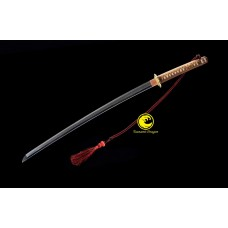 Battle Ready Clay Tempered Folded Kobuse Japanese WW2 Shin Gunto Katana Sword