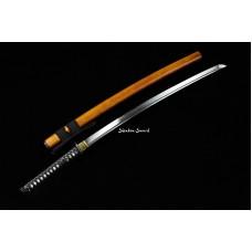 Battle Ready Japanese Samurai Katana Sword Clay Tempered T10 Steel Razor Sharp Blade