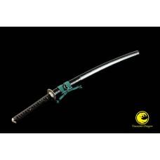 High Quality Japanese Iaido Training Sword Katana Unsharp Full Tang Blade