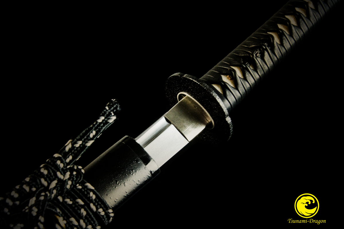 Japanese Iaido Training Sword Katana Unsharp Full Tang Blade