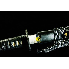 Japanese Iaido Training Sword Katana Unsharp Full Tang Blade